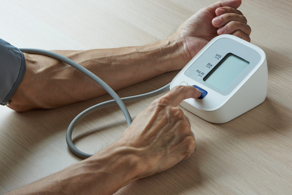 Home Care Services in Clark NJ: Checking Blood Pressure